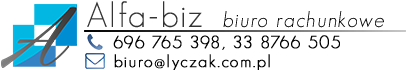 "Biuro Rachunkowe ""Alfa-Biz"" Logo"